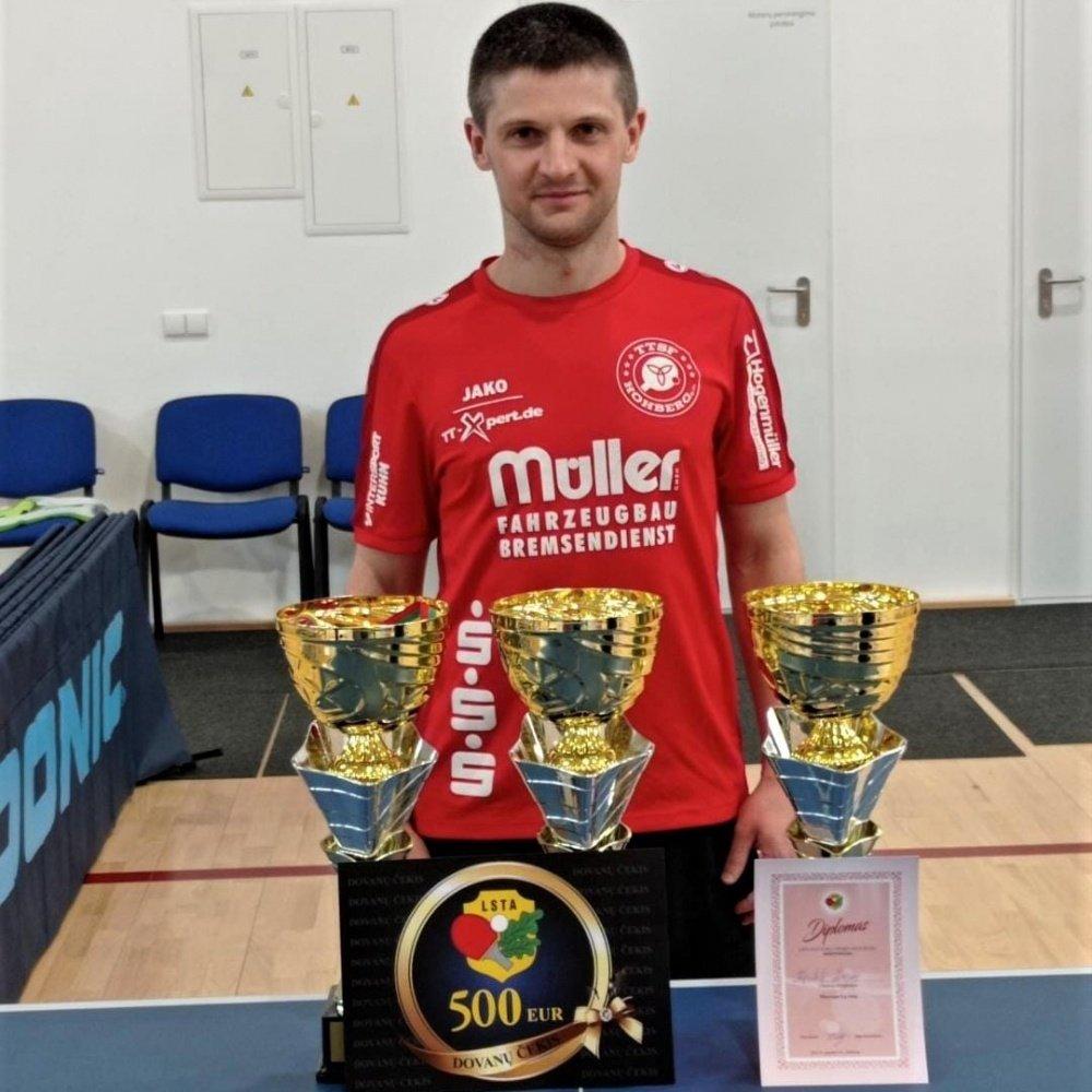 Kęstutis Žeimys – absoliutus Lietuvos čempionas