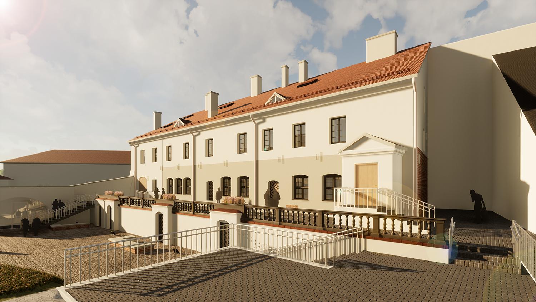 Pilininko namas bus pritaikytas muziejinėms ekspozicijoms