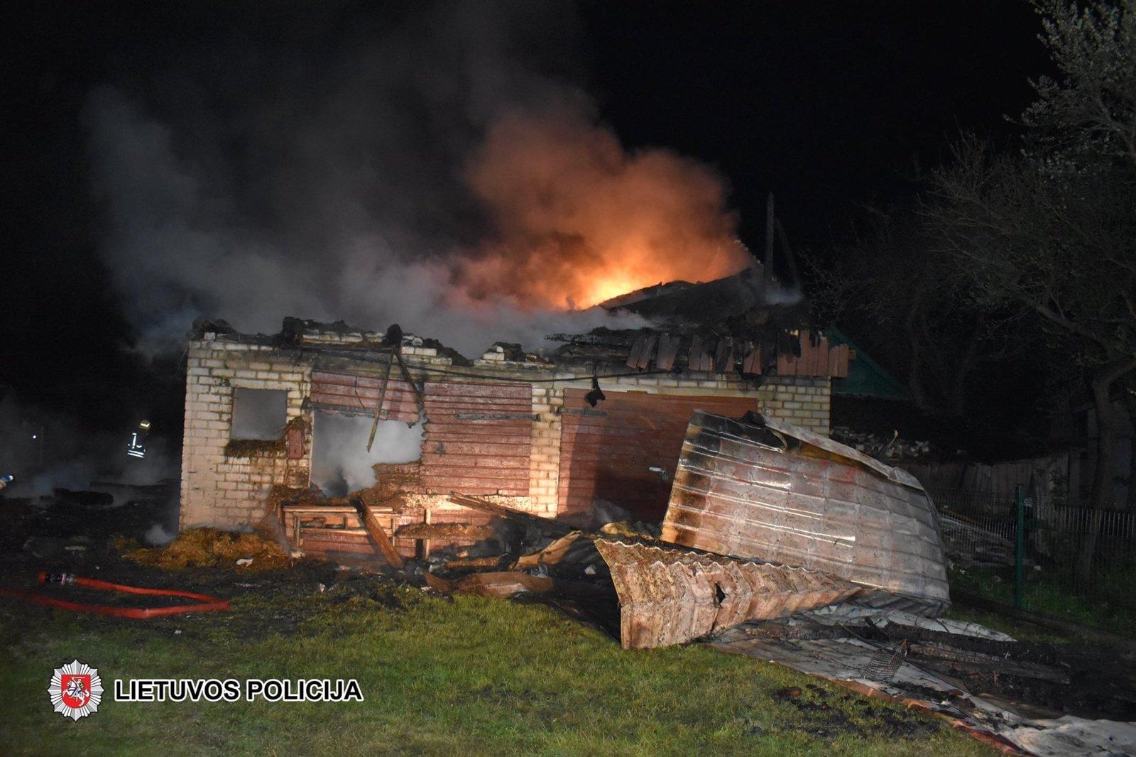 Padegimu įtariamas vyras sulaikytas po to, kai neblaivus atvyko į ligoninę dėl nudegimų