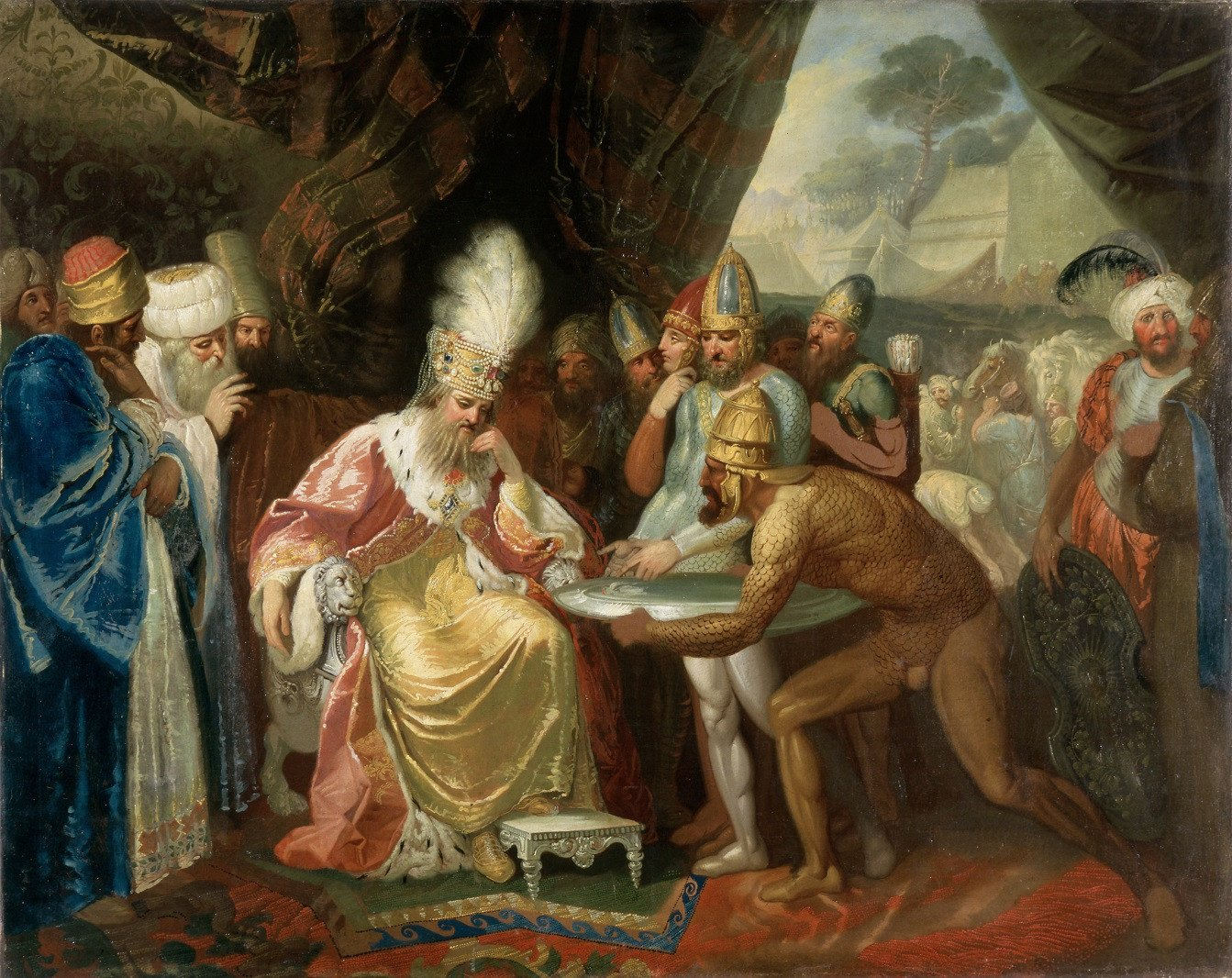 Vilniaus paveikslų galerijoje atidaroma P. Smuglevičiui skirta paroda
