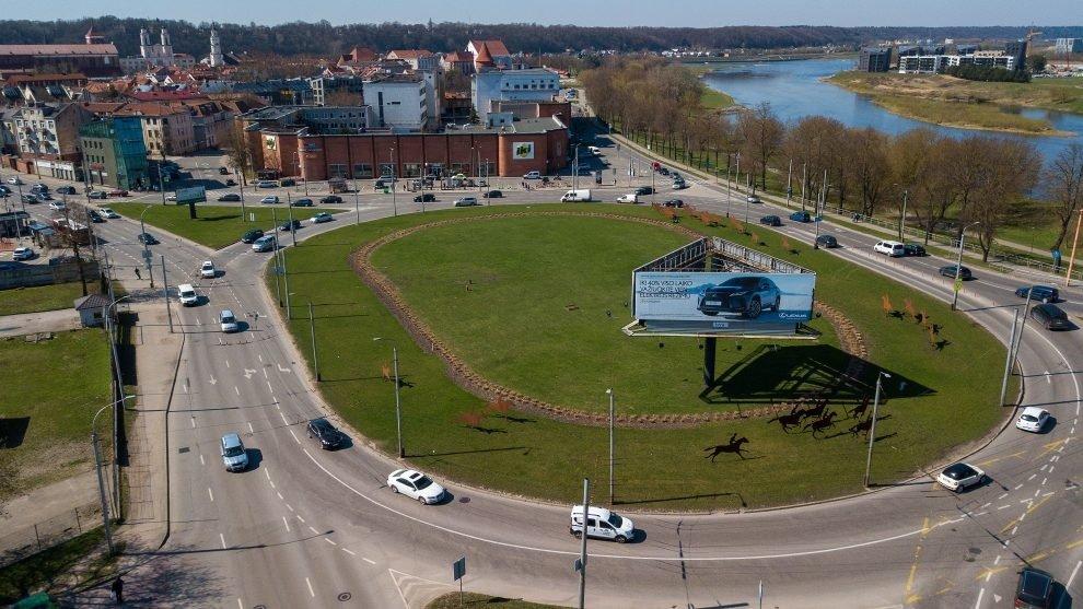 """Dėl Pilies žiedo ir P. Vileišio tilto remonto – viešojo transporto pokyčiai: """"Taip smarkiai dar nėra buvę"""""""