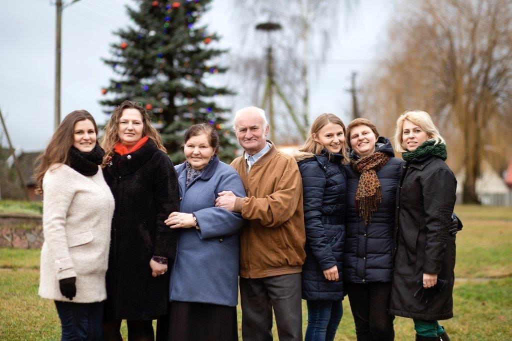Antanas ir Vanda Bujokai: meilė gimė pilstant grūdus