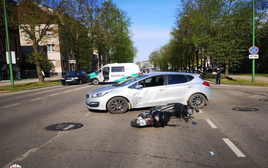 Per savaitę keliuose sužeisti 108 žmonės, žuvo dvi moterys
