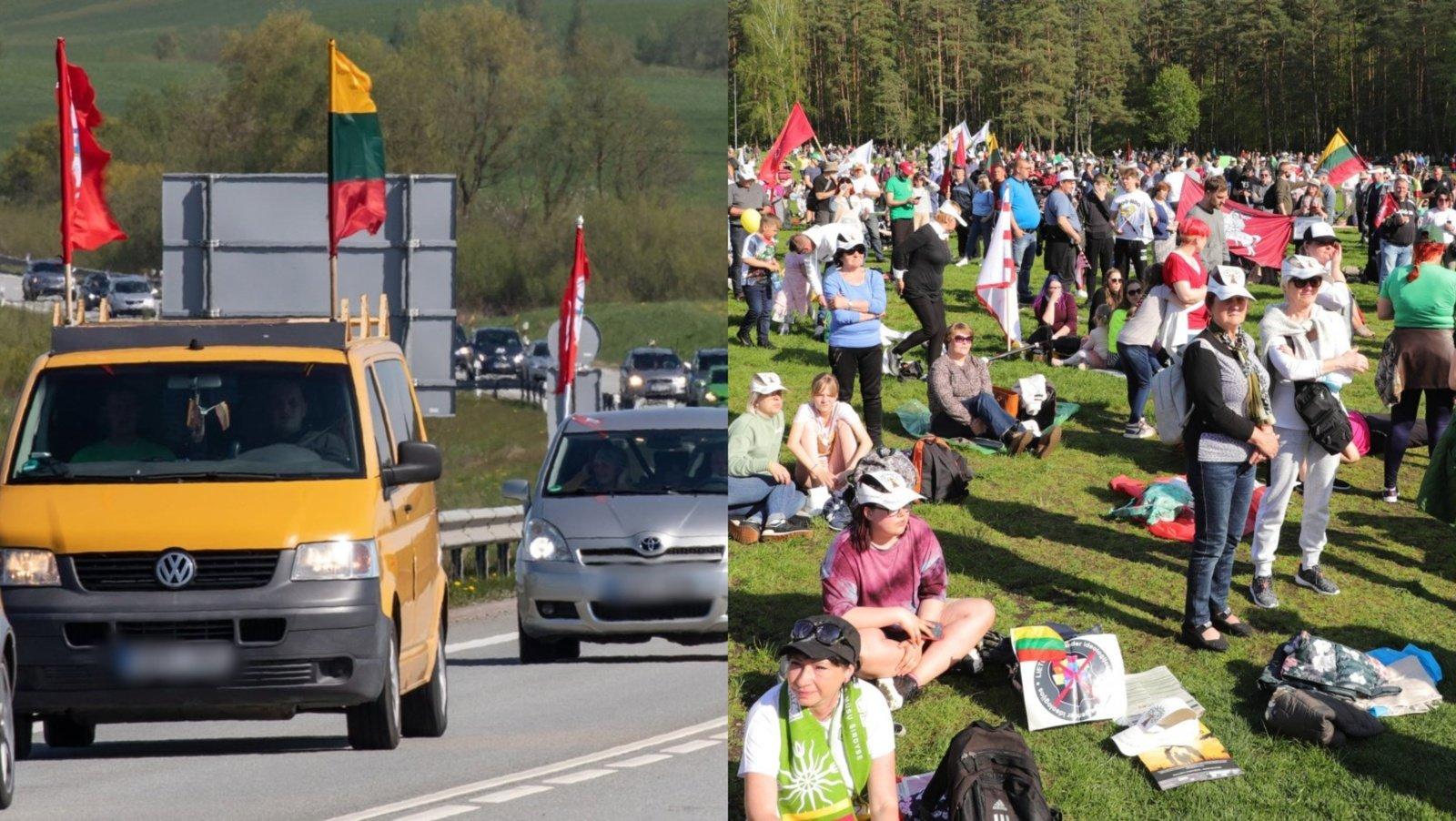Svarbiausi savaitgalio įvykiai: šeimos maršas ir sulaikyti bėgliai