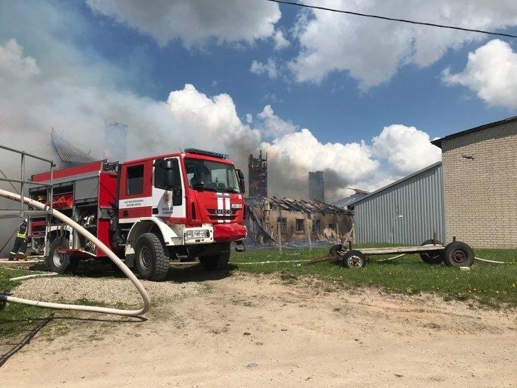 Šeštadienį ir sekmadienį rajone kilo keturi gaisrai