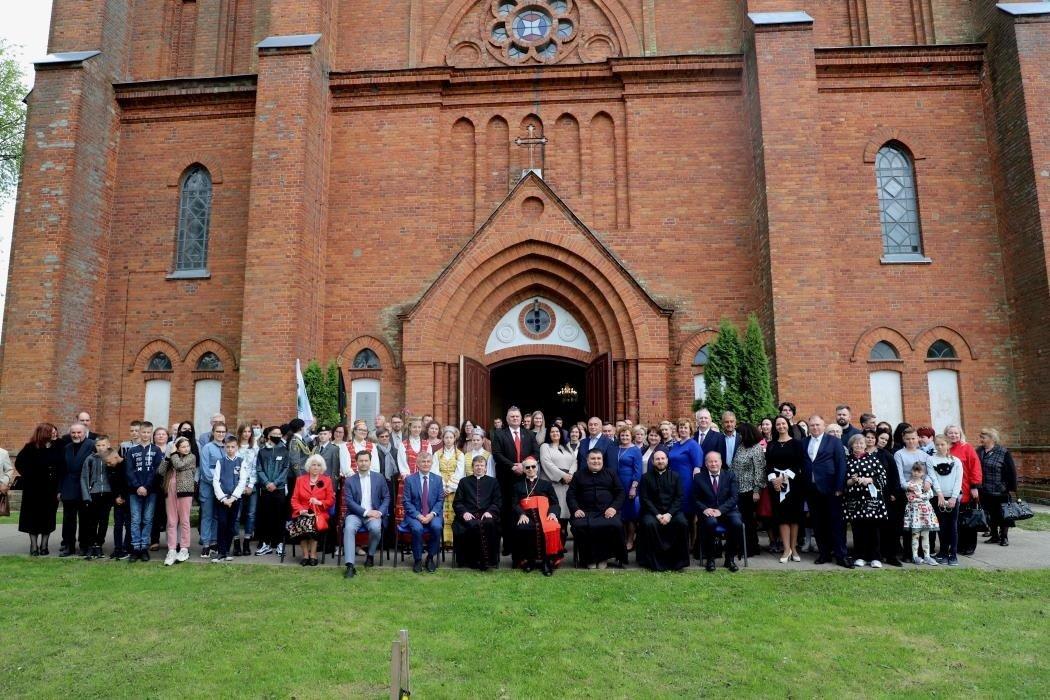 Vilkijoje paminėtos parapijos bažnyčios statytojo kunigo S. Bačkio gimimo metinės