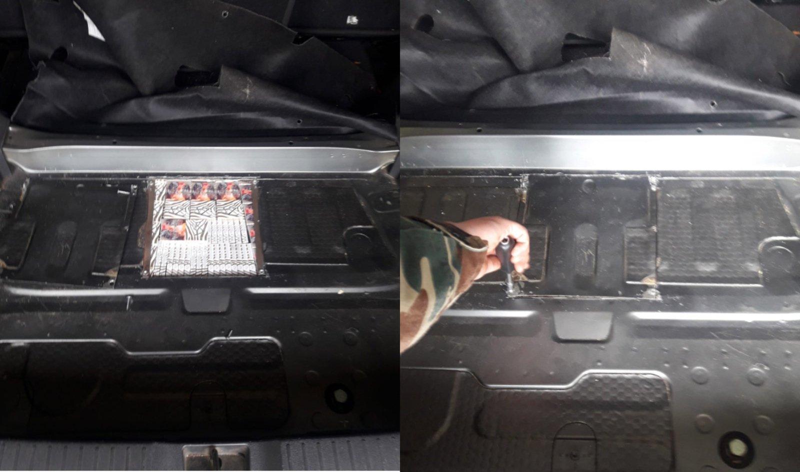 Rūkalus mašinoje slėpusi šalčininkietė nepergudravo pasieniečių