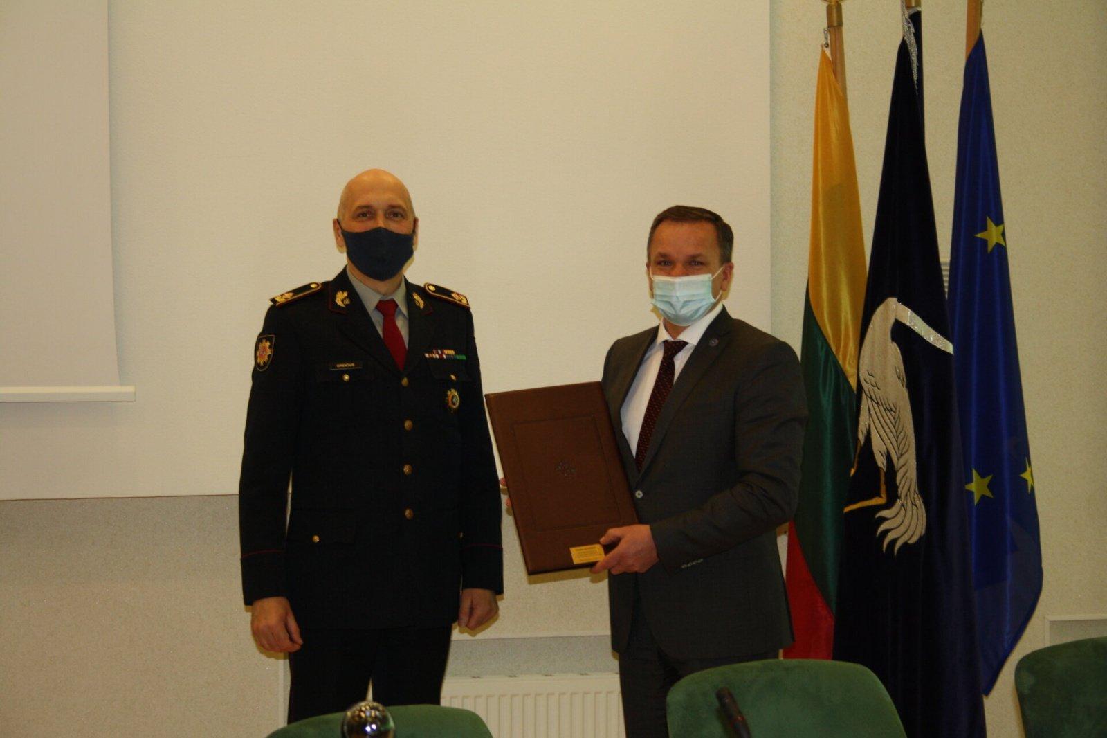 Visagino savivaldybė pripažinta saugiausia Lietuvoje