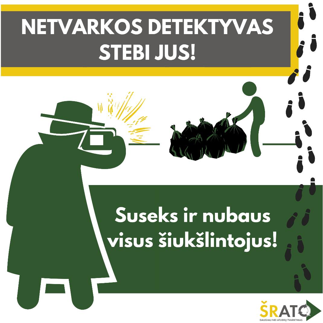ŠRATC padeda Šiaulių miesto savivaldybei nustatyti ir nubausti aplinkos teršėjus