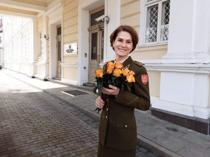Akmenės krašto ambasadoriai. Pulkininkė leitenantė Vilma
