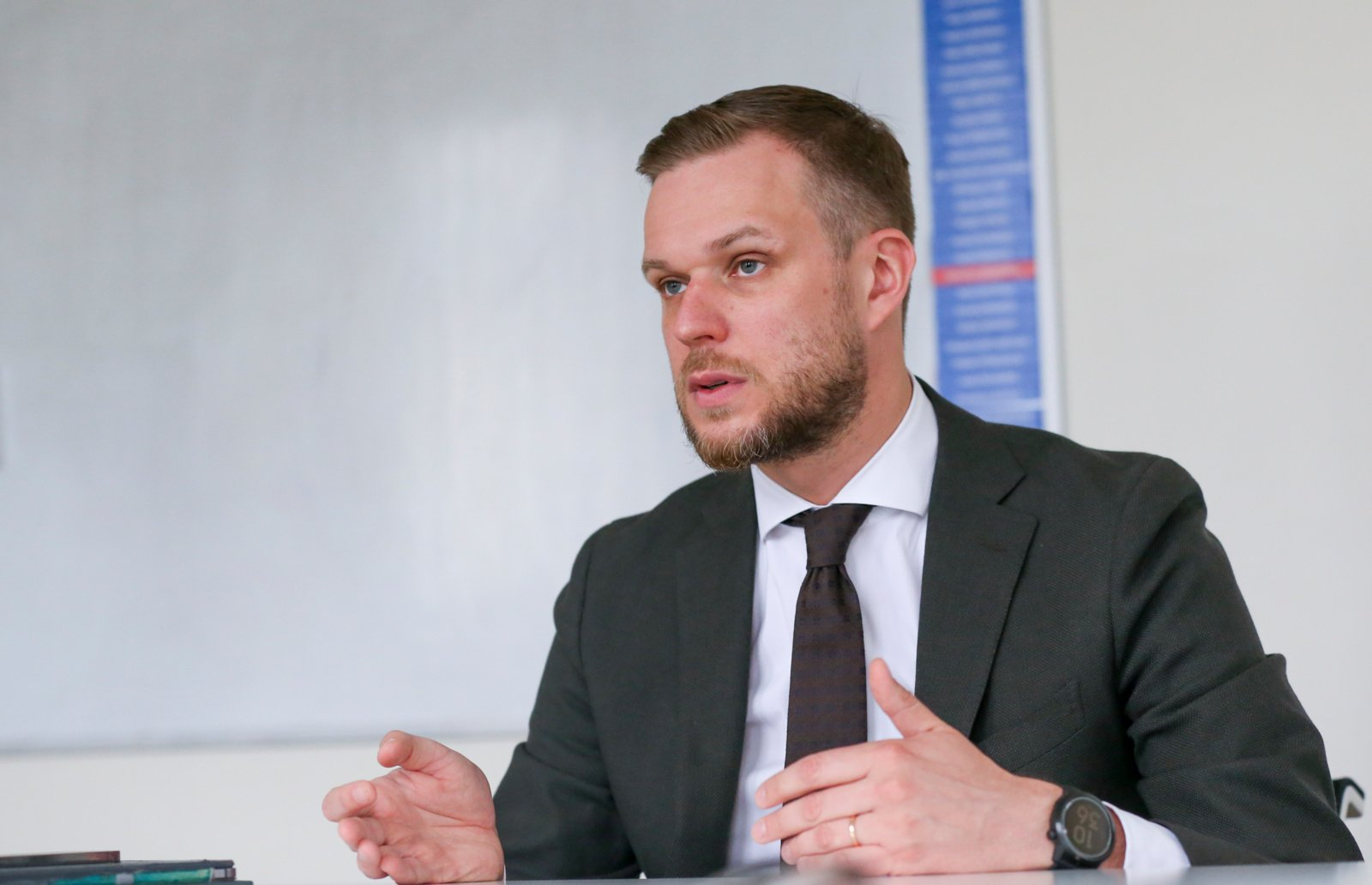 """G. Landsbergis: tyrimas dėl """"Ryanair"""" lėktuvo nutupdymo Minske jau nebe politikų rankose"""