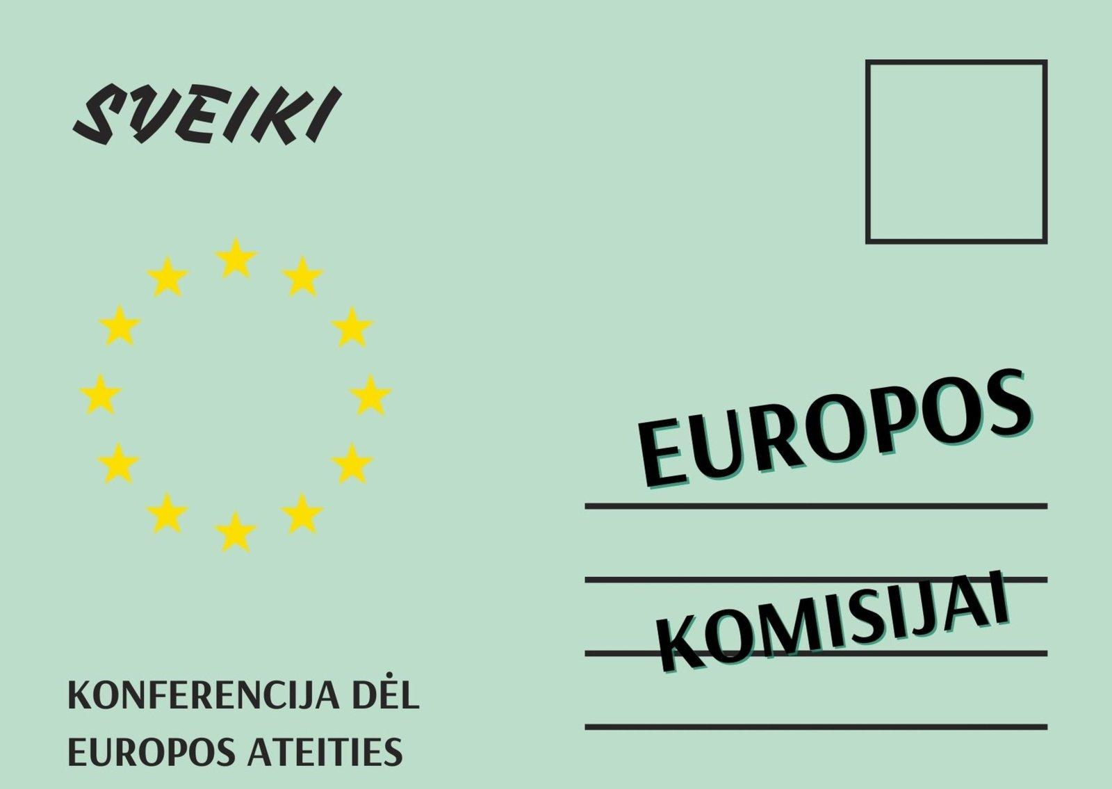 Jaunimo debatai apie Europos žaliąjį kursą ir jaunatviškos idėjos Europai