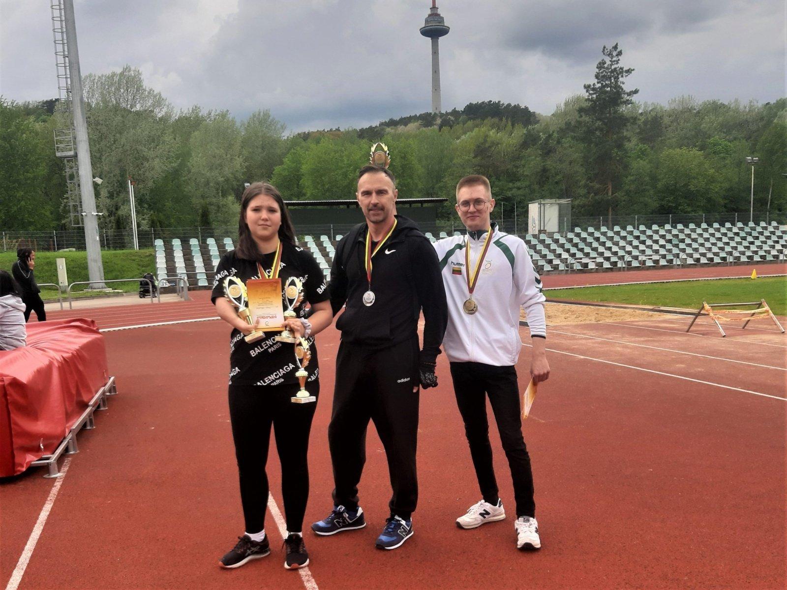 Vilkaviškio rajono sportininkai puikiai pasirodė Lietuvos žmonių su fizine negalia atvirame lengvosios atletikos čempionate