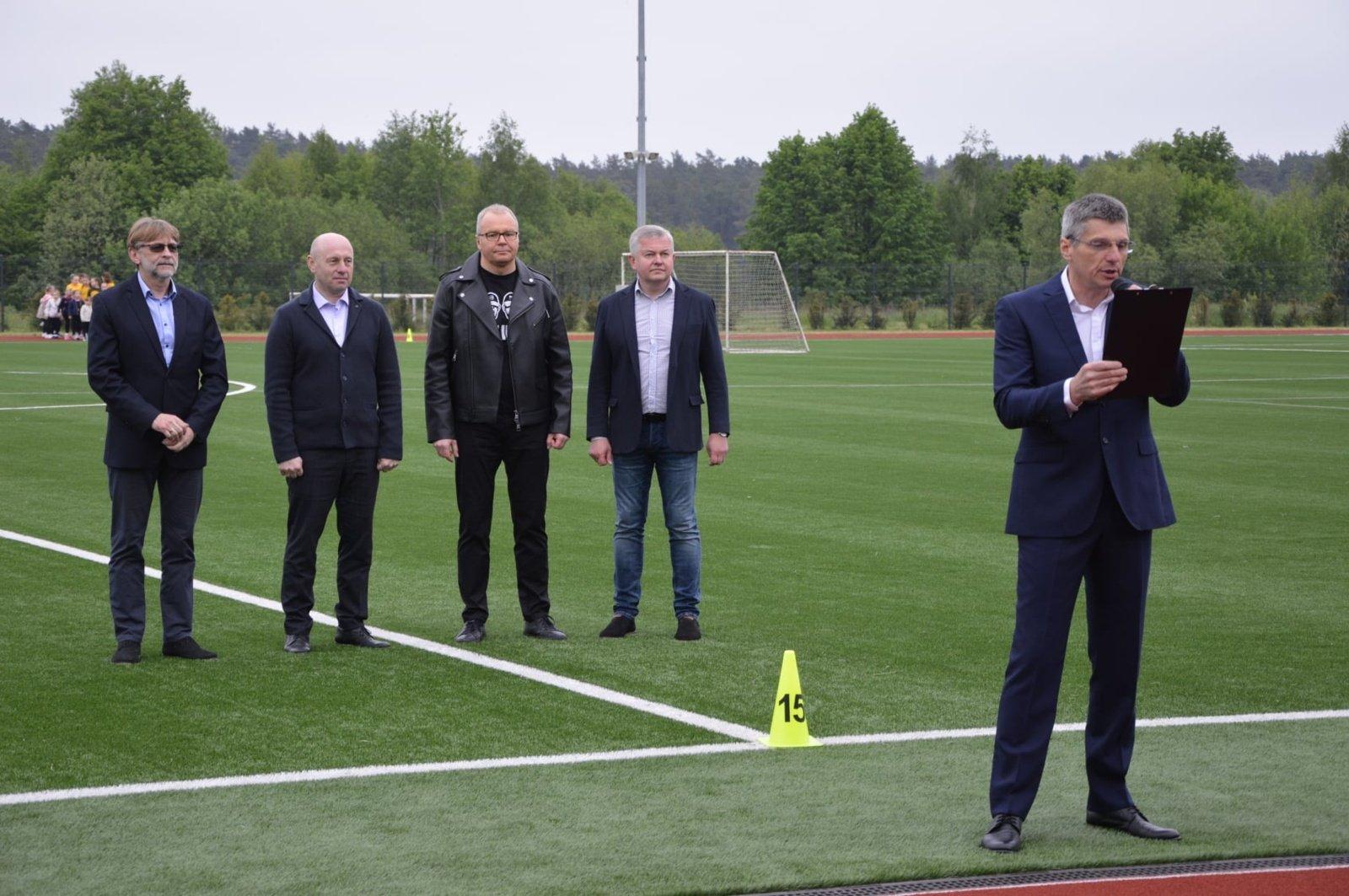 Lietuvos mažąjį futbolą Prienuose pristatė ir šios sporto šakos žvaigždės