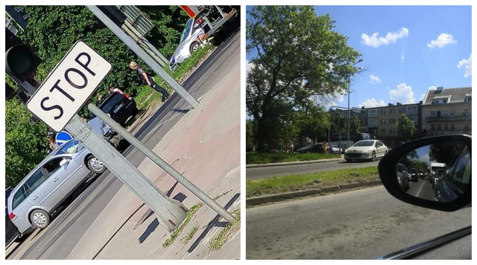 Eismo įvykis Vilniaus ir Ežero gatvių sankryžoje: neveikia šviesoforas, formuojasi spūstys