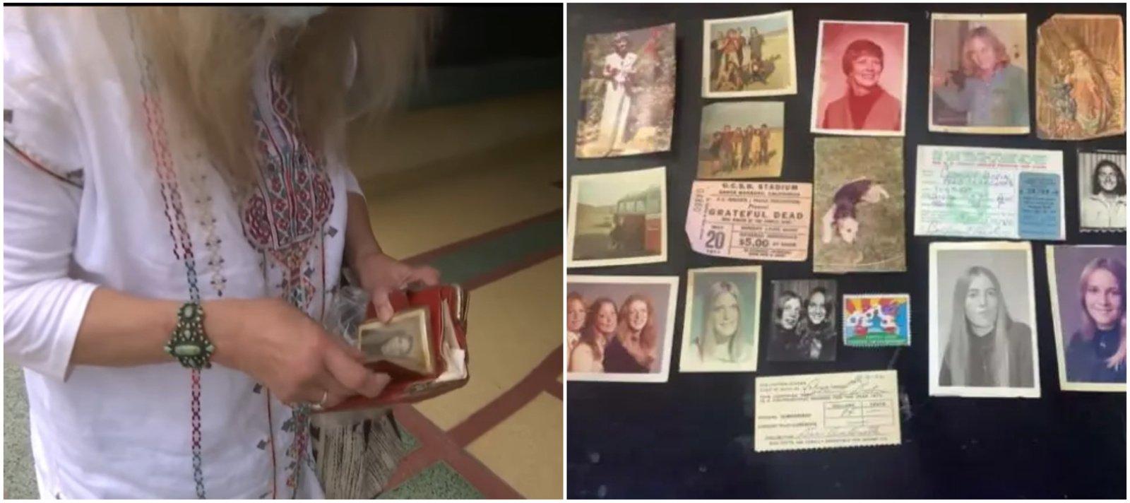 Nuosava laiko kapsulė: moteris piniginę susigrąžino po beveik 50 metų