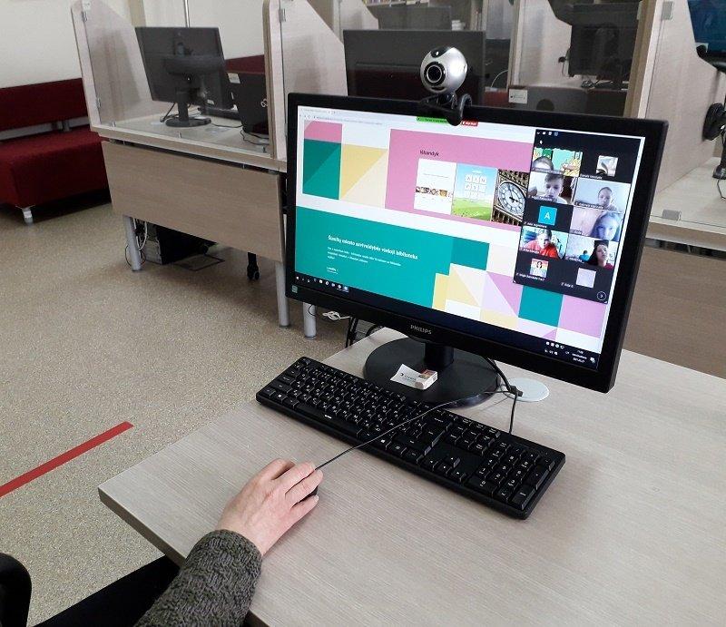 Užsienio kalbų mokymosi centras pasiekiamas ir per Edukacinių veiklų gidą