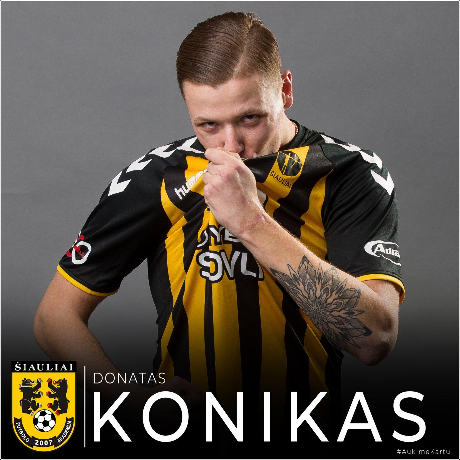 """D. Konikas """"Į stadioną susirenkantys žiūrovai mums suteikia papildomos motyvacijos ir yra kaip dvyliktas žaidėjas"""""""