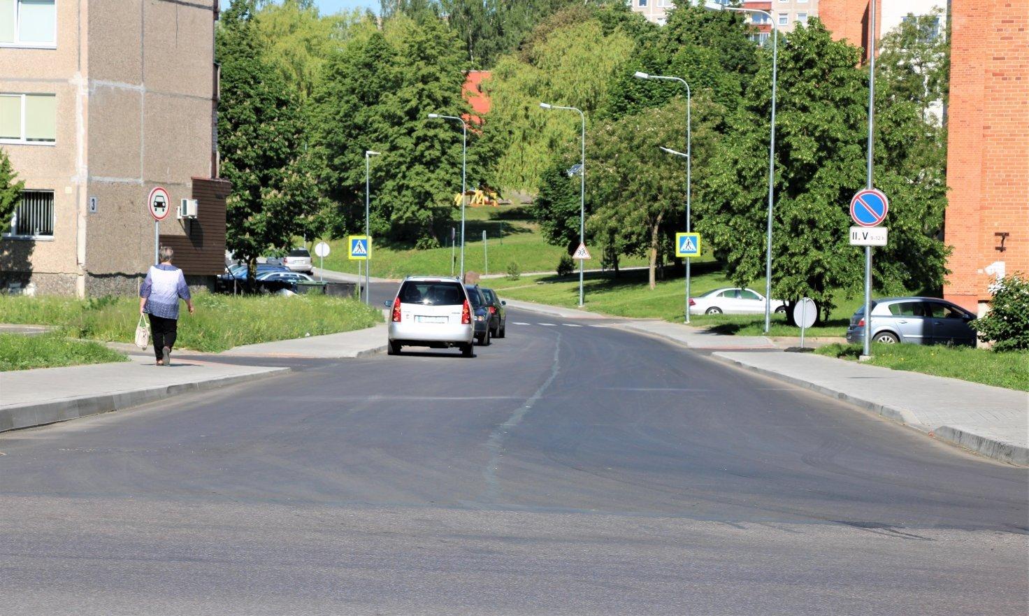 Infrastruktūros atnaujinimas Uosupio gatvėje jau finišo tiesiojoje