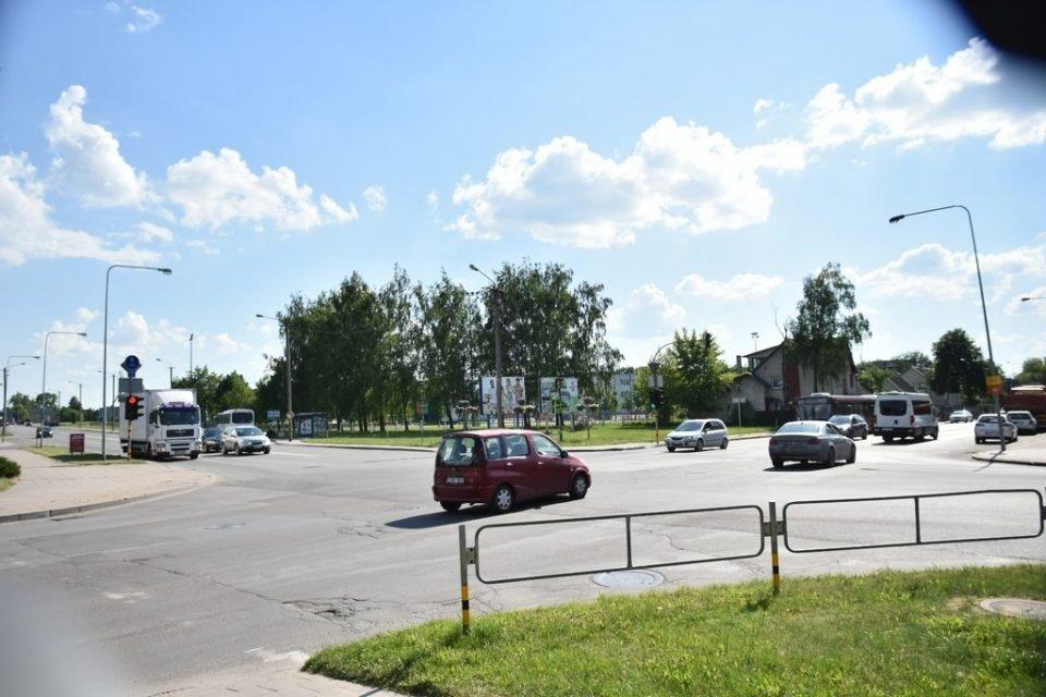 Judrioje Panevėžio miesto sankryžoje bus ribojamas eismas