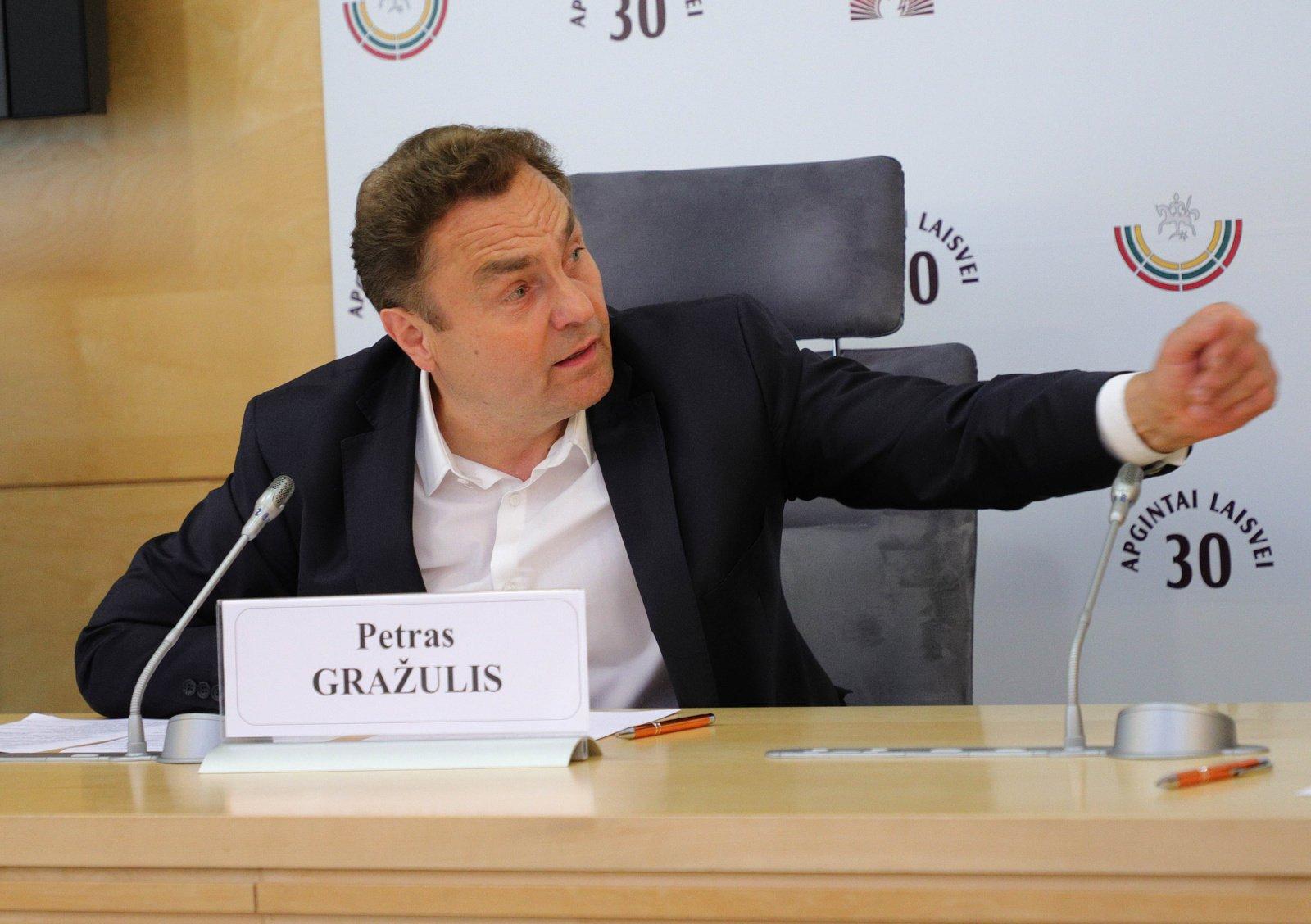 P. Gražulis palieka Kultūros komitetą: dirbs Aplinkos apsaugos komitete