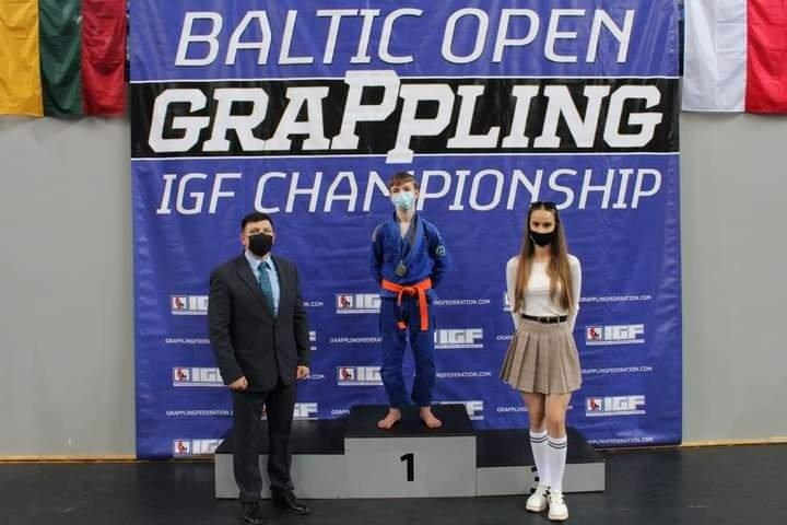 Baltijos šalių graplingo imtynių čempionatas Jonavoje