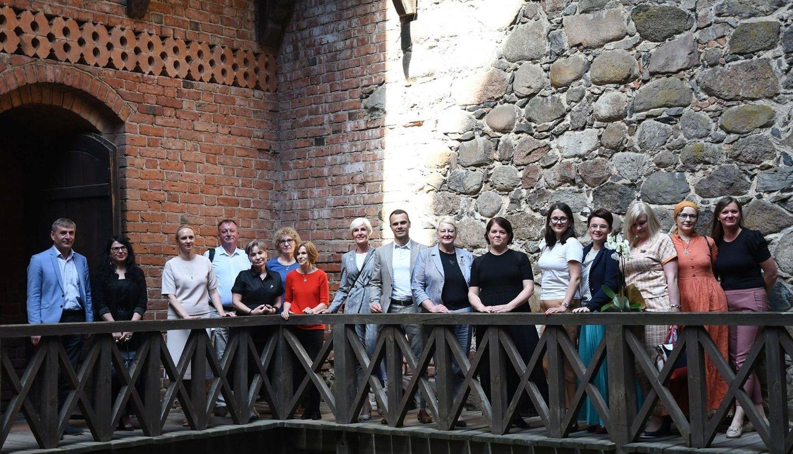Trakų švietimo įstaigos glaudžiau bendradarbiaus su Trakų istorijos muziejumi
