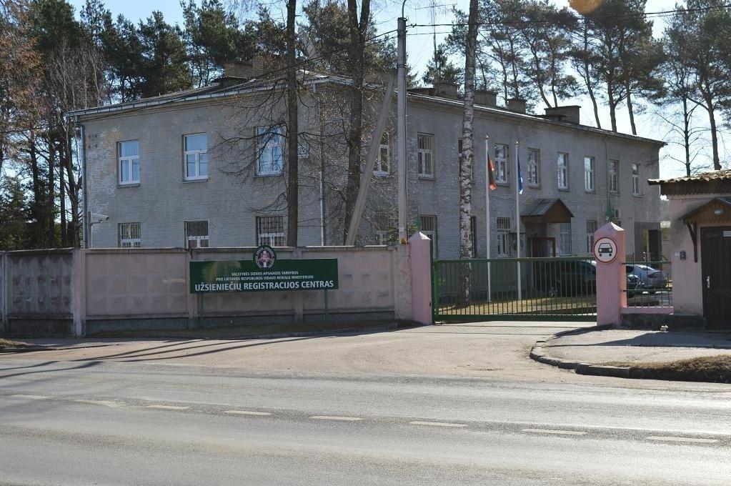 Užsieniečių registracijos centras Pabradėje beveik pilnas