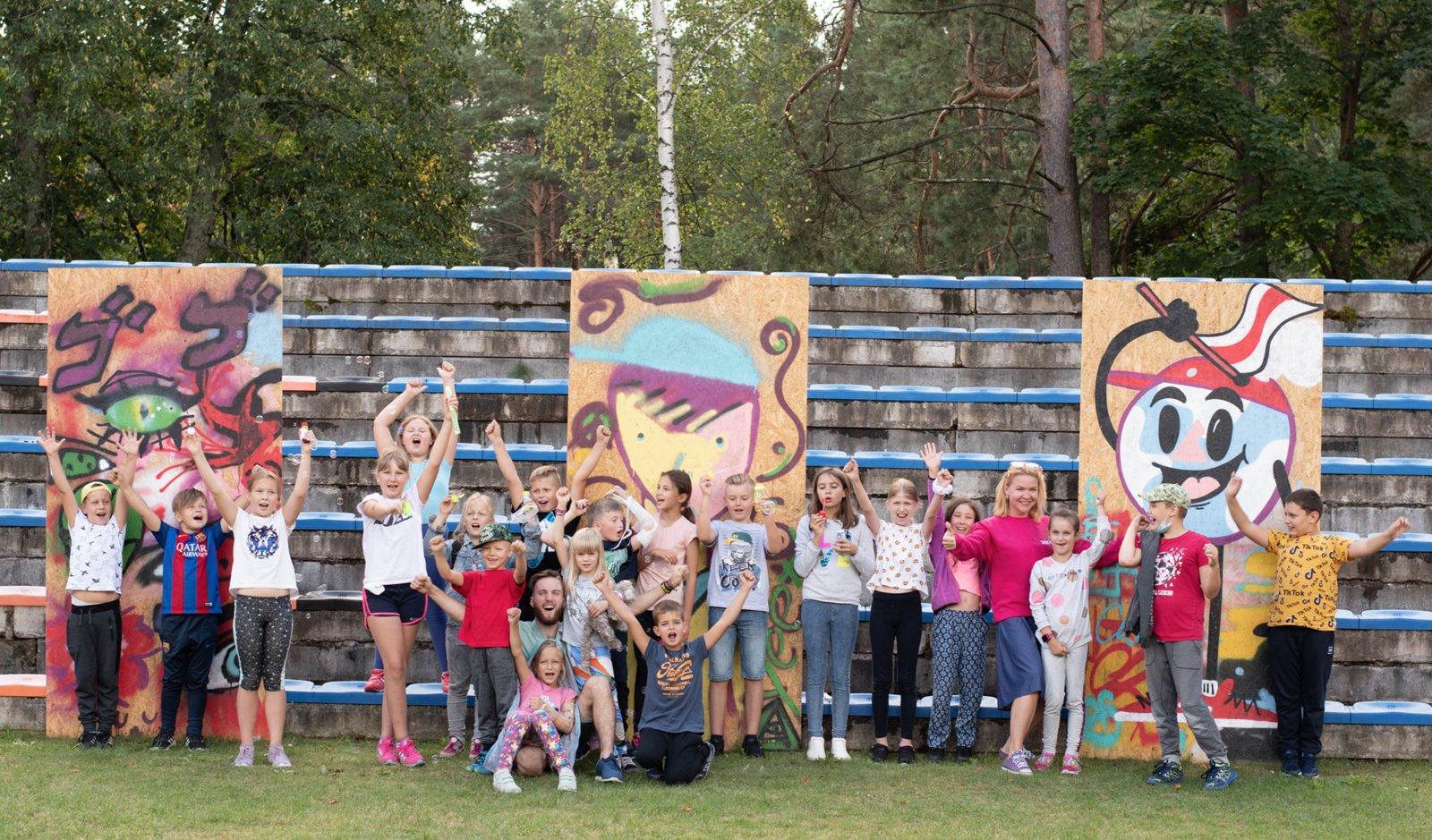 Vasaros stovyklos – druskininkiečių ir kurorto svečių vaikams