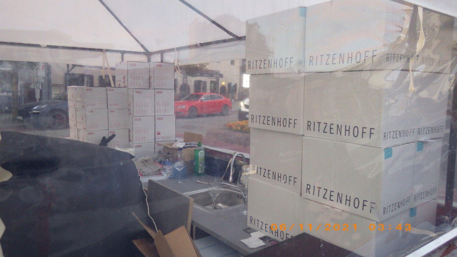 Vilniuje sulaikyti įtariamieji, iš paviljono pavogę alkoholinių gėrimų