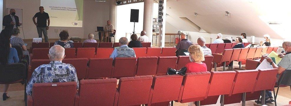 """Nedalyvavote AB """"Šiaulių energija"""" vykusiame seminare? Praleidote progą išsamiai susipažinti su  renovacijos aktualijomis"""