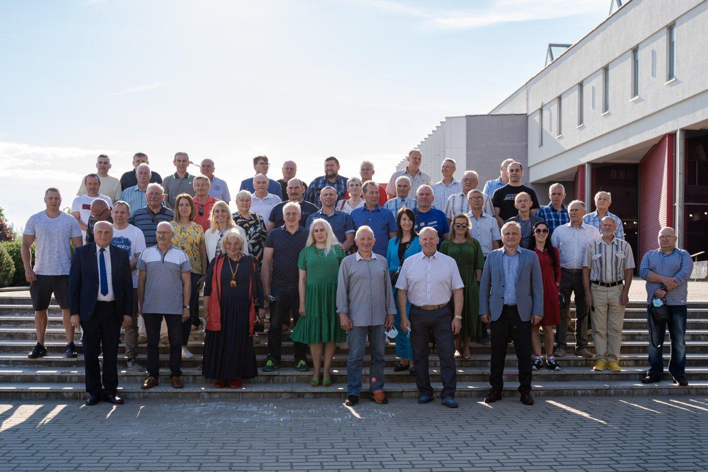 Įkurta Marijampolės sporto veteranų asociacija
