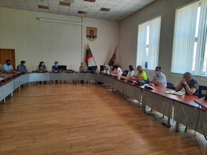Pakruojo rajono savivaldybės ekstremaliųjų situacijų komisijos posėdyje – dėmesys maudymosi sezonui