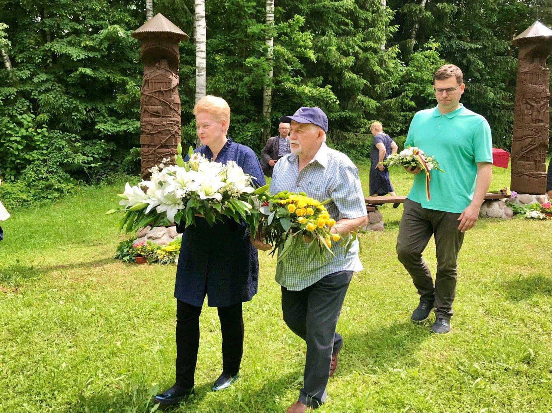 D. Grybauskaitė: už laisvę ir žmogiškumą reikia kovoti kasdien