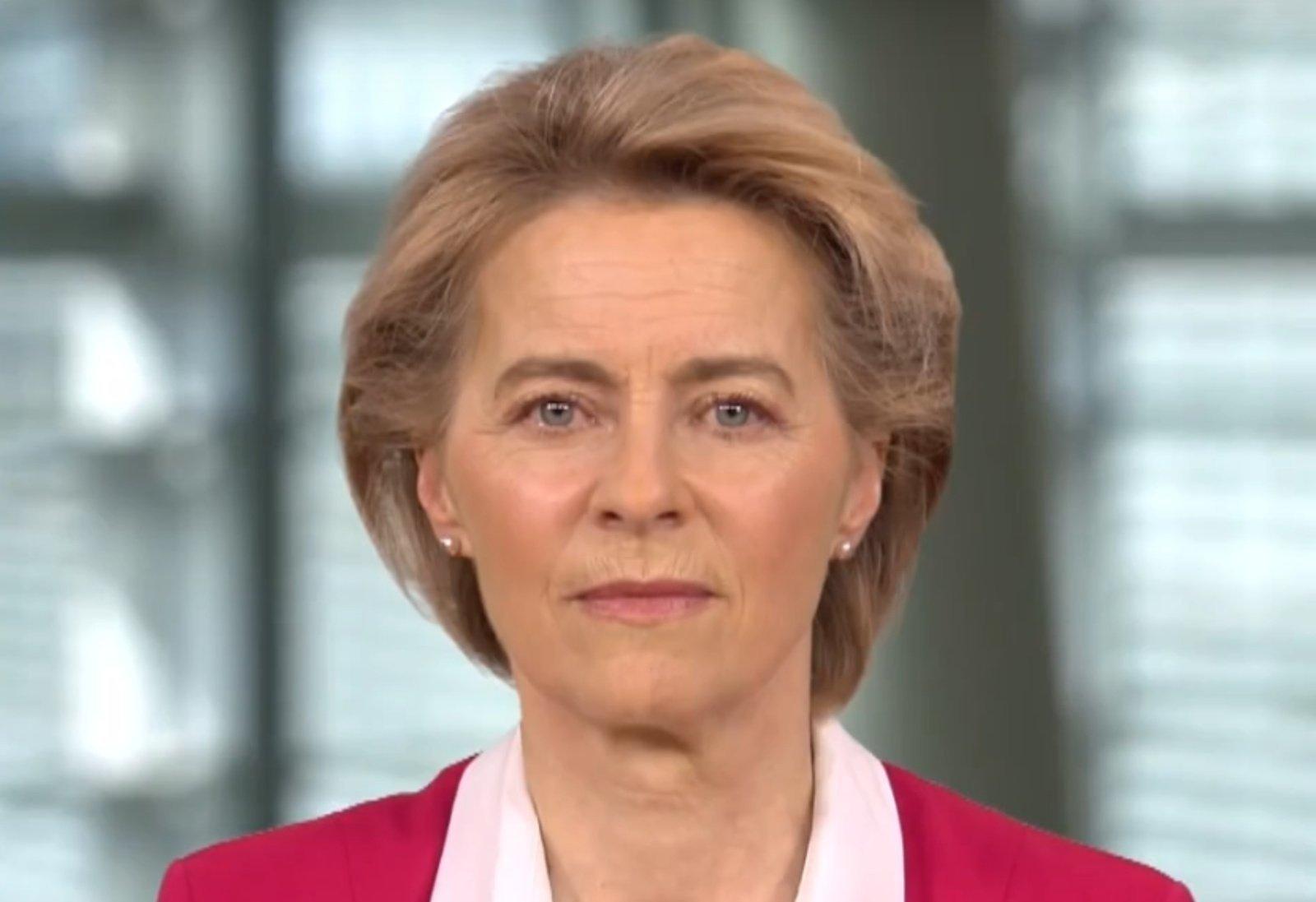 U. von der Leyen: G-7 šalių bendradarbiavimas sustiprintų ES sankcijas Baltarusijai