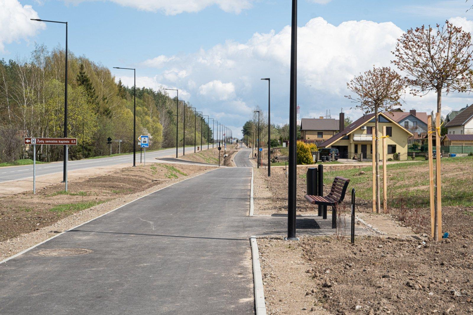 Alytuje – naujas dviračių takas