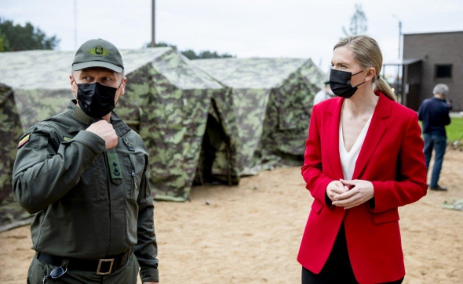 A. Bilotaitė dėl neteisėto žmonių gabenimo iš Baltarusijos kreipėsi į prokuratūrą