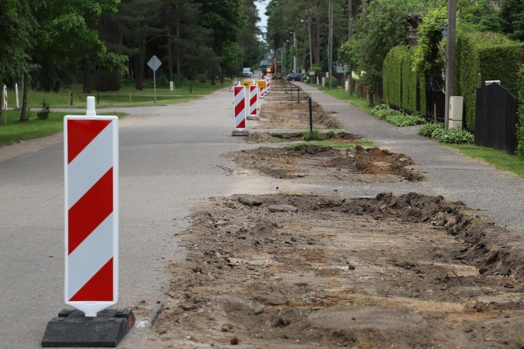 Po rekonstrukcijos Kačerginės pagrindinės gatvės pasikeis neatpažįstamai