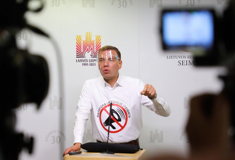 STT tvirtina, kad M. Puidoko pasisakymai neatitiko tikrovės: žada kreiptis į Seimo etikos ir procedūrų komisiją