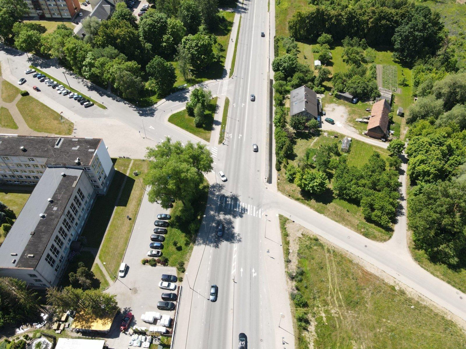 Nereguliuojamoje Liepų, Arimų ir Jaunystės gatvių sankryžoje įrengs šviesoforus