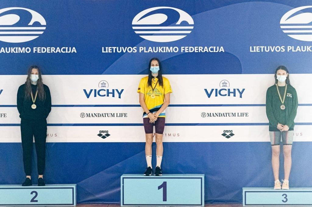 Geriausia jaunių čempionato plaukikė – šiaulietė