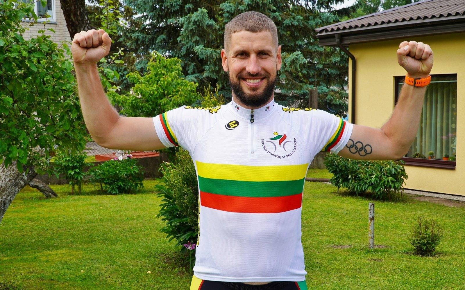 Olimpietis Gediminas Bagdonas: Šiauliai privalo susigrąžinti dviračių miesto vardą