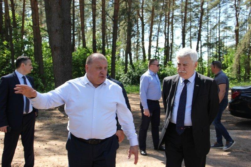 Azerbaidžano ambasadorius lankėsi Zarasuose