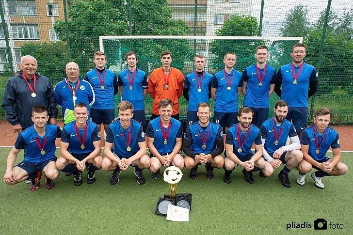 """SK """"Baltic Champs-Ježvito"""" komandai įteikti aukso medaliai"""