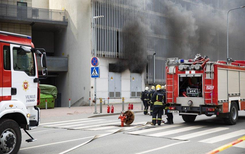 Ministerija: ugniagesiams skirta 380 tūkst. eurų