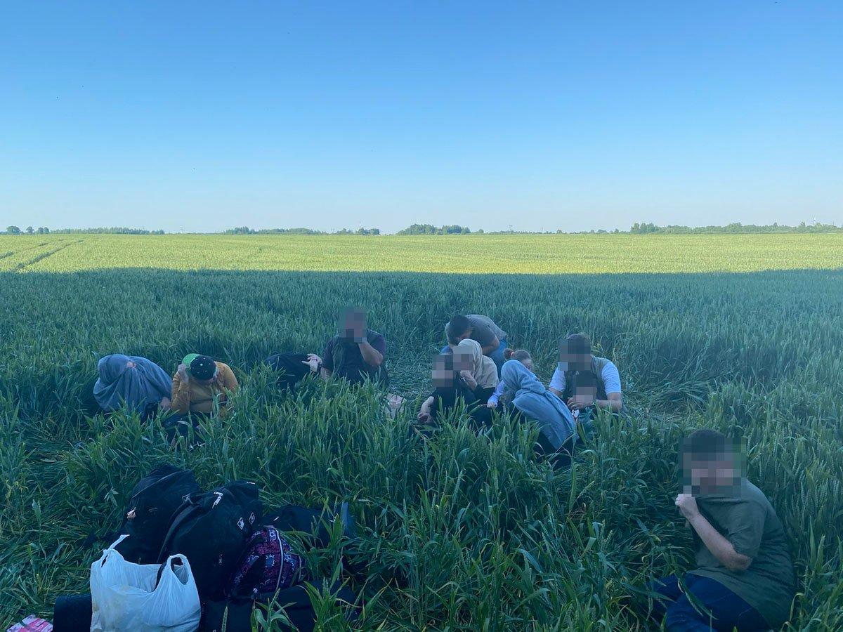 Ignalinos rajone pasieniečiai sulaikė 12 neteisėtai sieną su Baltarusija kirtusių migrantų