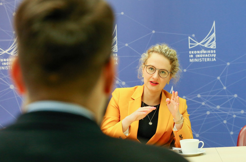 """A. Armonaitė: """"Starlink Lithuania"""" pradės veiklą šių metų pabaigoje arba kitų pradžioje"""
