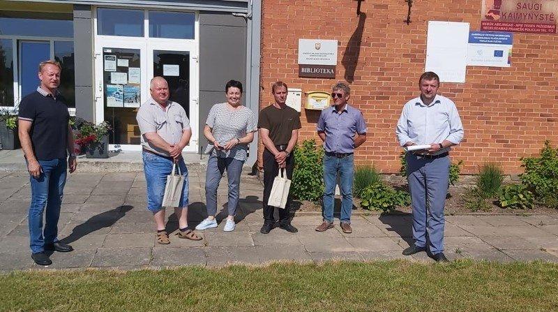 Joniškio rajono meras susitiko su seniūnijų verslo atstovais ir ūkininkais