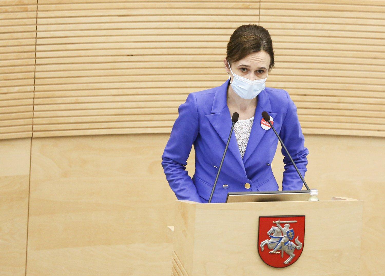 V. Čmilytė-Nielsen: Opozicijos projektas dėl merų rinkimų nesurinktų reikiamos daugumos