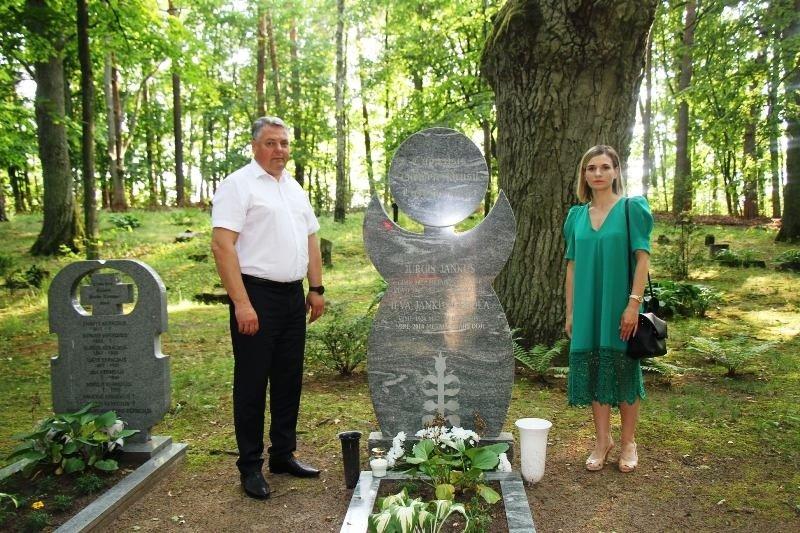 Pagerbtas Pagėgių savivaldybės Garbės pilietės atminimas
